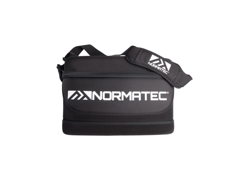 Image of the Normatec Carry Case product with shoulder strap